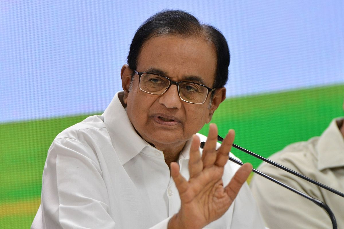 PM can only answer, why is he silent: P Chidambaram on Pegasus row