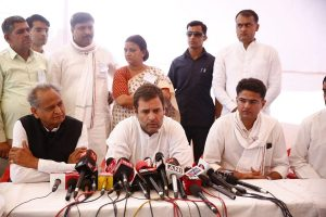 With few days to go for Assembly session, Sachin Pilot meets Rahul, Priyanka Gandhi