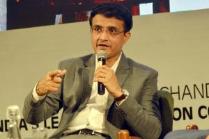 Sourav Ganguly goes on inspection of 'Famous Sharjah stadium' ahead of IPL 2020