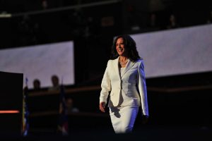 Kamala Harris makes history as first black, South Asian woman to be VP candidate, invokes mother's memories