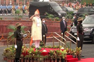 PM Modi unfurls tricolour on 74th Independence Day, gives call for 'Aatmanirbhar Bharat' from Red Fort