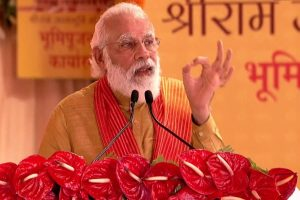 Decades of wait over, now temple for Ram Lalla who has been living in tent: PM Modi at Ayodhya