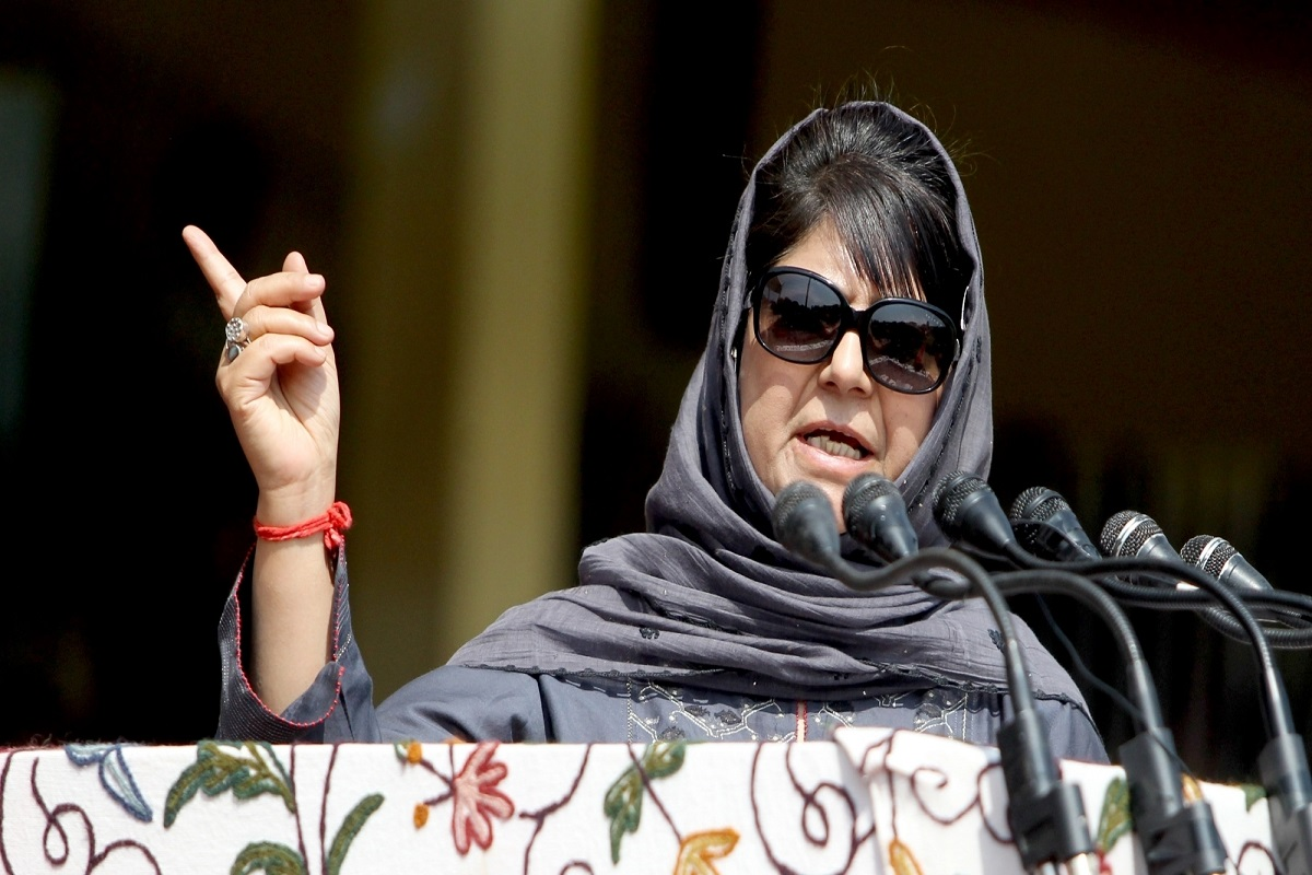 BJP government, PDP chief and former chief minister Mehbooba Mufti, conspiracy to defame farmers, Republic Day violence,