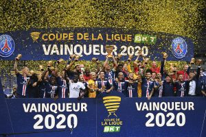 PSG edge Lyon on penalties in French League Cup final for another domestic treble