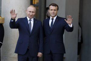 Russian President Putin, Macron discuss situation in Lebanon, Ukraine over phone
