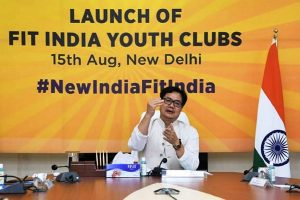 Kiren Rijiju launches nation-wide initiative of Fit India Youth Clubs to promote fitness among every citizen