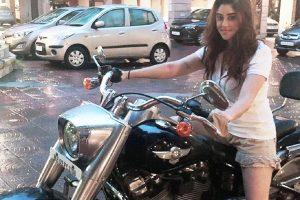 Payal Ghosh hones her bike riding skills for international film