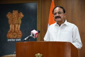 Ahead of Ram temple ceremony, Vice President calls to spread universal message of Dharma