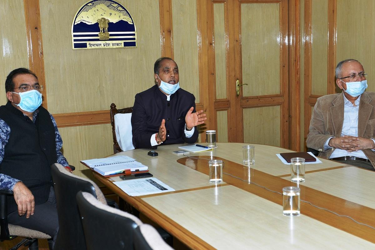 HP CM, Shimla, Himachal Pradesh, Jai Ram Thakur, Covid-19 pandemic, Ayushman Bharat, Himachal