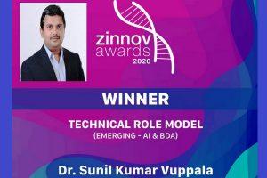 IIT Roorkee alumnus wins prestigiousZinnov Award 2020 for contribution to AI and Big Data analytics