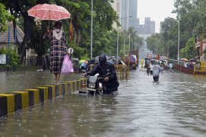 2 dead, 2 missing as heavy rains pound Mumbai, nearby areas; Aaditya Thackeray visits affected areas