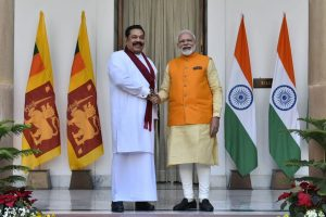 PM Modi speaks to his Sri Lankan counterpart Mahinda Rajapaksa, congratulates him for successful conduct of elections