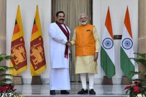 PM Modi speaks to his Sri Lankan counterpart Mahinda Rajapaksa, congratulates him for successful conduct of elections