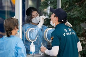 South Korea reports 397 new COVID-19 cases, total count climbs to 17,399