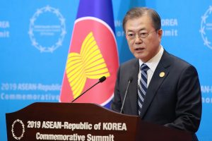 South Korean President ready to sit with Japan over forced labour issue