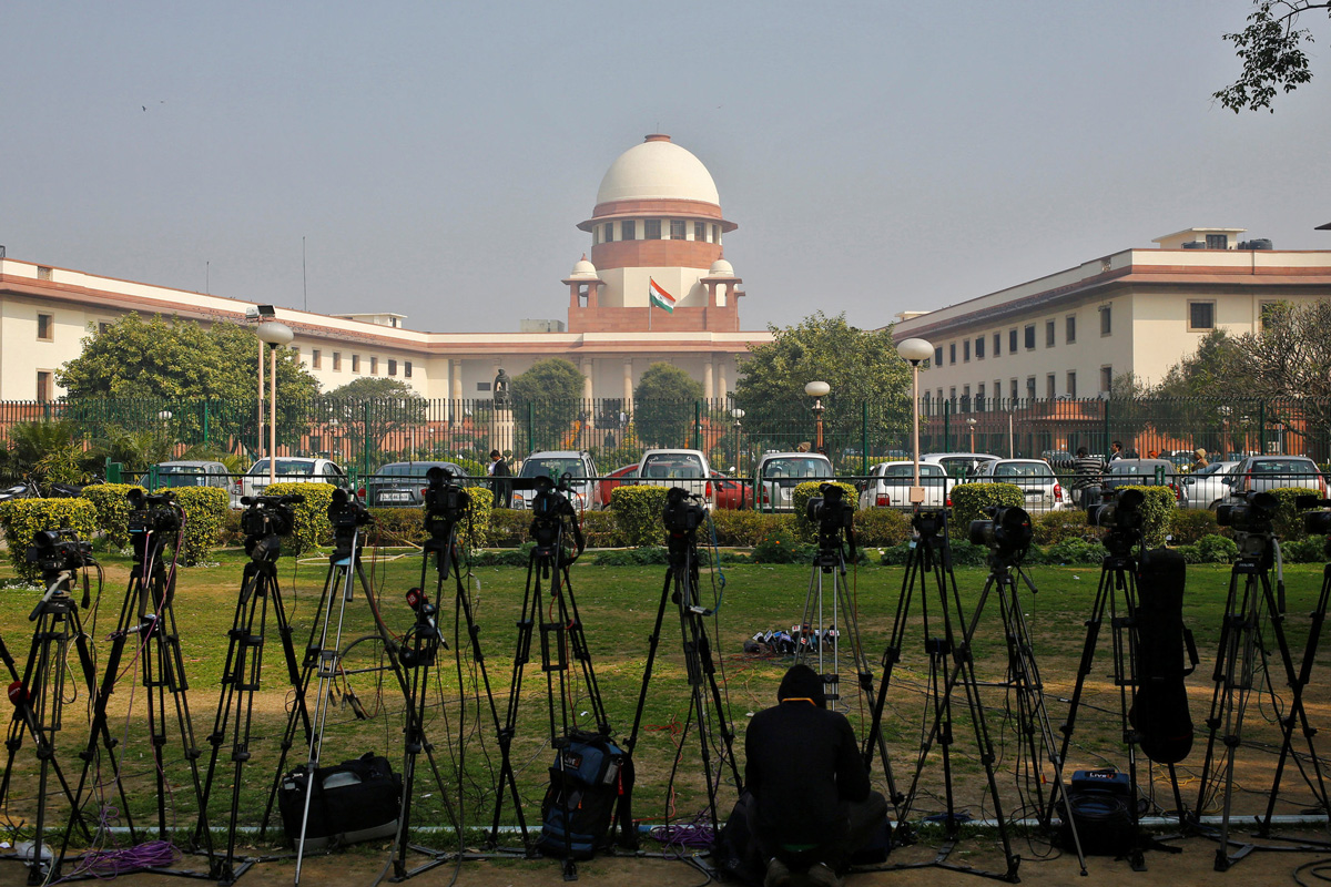 Storm in court, Supreme Court of India, Chief Justice of India, YS Jagan Mohan Reddy