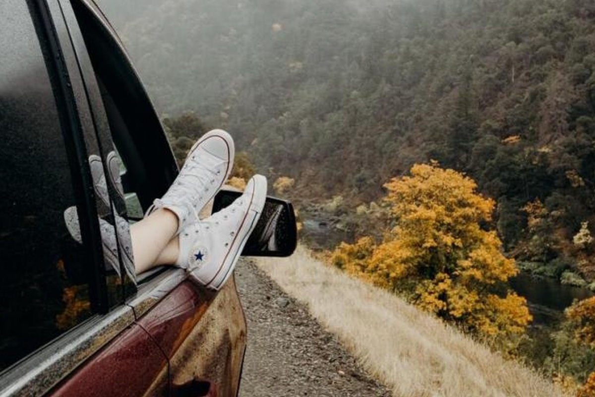 Road trips, outdoor time