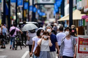 Tokyo's daily Coronavirus cases above 200 for 8th day