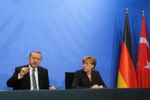 Turkey President Erdogan, Angela Merkel discuss escalation of tensions in East Med