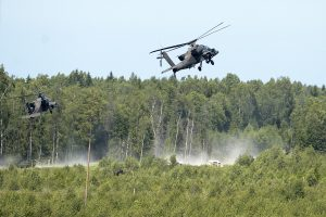 US Air Force helicopter shot, 1 pilot hurt