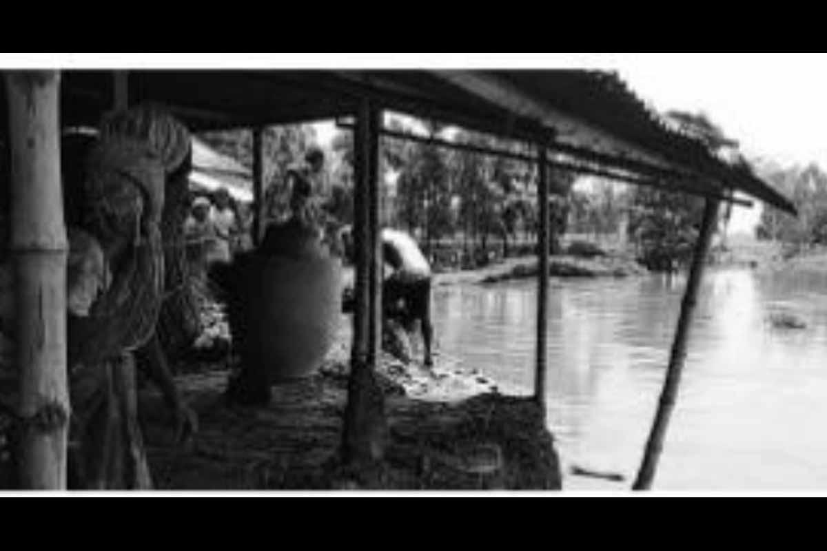 West Bengal floods, North Dinajpur district, Village,