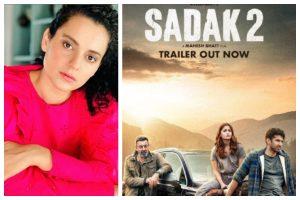 Team Kangana Ranaut takes dig at Ranbir Kapoor, Alia Bhatt as 'Sadak 2' trailer garners more than 5 million dislikes