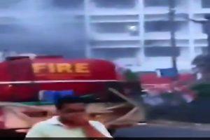 9 killed in massive fire at makeshift COVID-19 care facility in Andhra Pradesh's Vijaywada