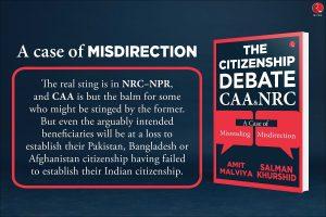 Congress' Salman Khurshid, BJP's Amit Malviya take on CAA debate in new book