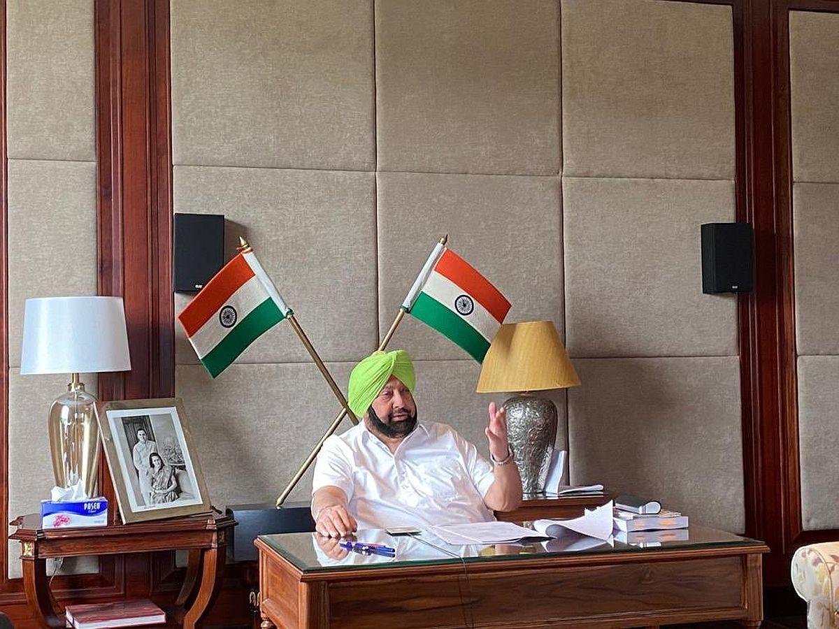 Punjab Chief Minister Capt Amarinder Singh, farmers, farm sector legislations,