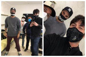 Ranbir Kapoor resumes shoot; celebrates hairstylist's birthday on sets