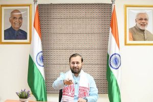 Union Minister Prakash Javadekar launches 24×7 channel 'Doordarshan Assam'