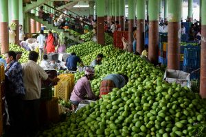 WPI inflation remains negative at -0.58 in July, but food prices spike
