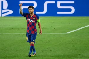 Goal against Napoli helps Lionel Messi to extend record of scoring against most number of Champions League teams