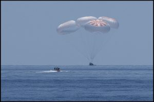 'Sounds like an animal': NASA-SpaceX mission astronauts describe first water landing by US spaceship since 1975