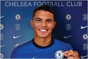 Chelsea sign former PSG defender Thiago Silva on one year deal