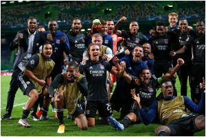 Champions League: Olympique Lyon knock Manchester City out to book semifinal berth
