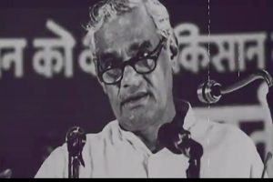 As tribute to Atal Bihari Vajpayee on his 2nd death anniversary, PM Modi tweets video montage of old pics