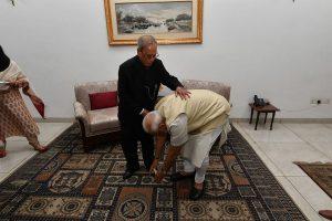 'A scholar par excellence, a towering statesman': PM Modi pays tribute to Pranab Mukherjee