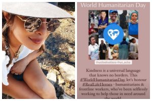 'Kindness is universal language that knows no borders': Priyanka Chopra Jonas pays tribute to frontline workers