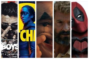 Comic book-based shows/movies that you need to watch this weekend