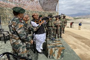 Ban on import of 101 defence items to boost self-reliance: Rajnath Singh