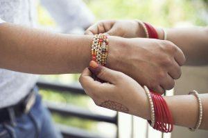 Sisters from Northeast tie Rakhi on Jawans posted in J-K
