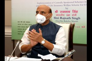 Rajnath to armed forces: Help states to tackle Covid crises