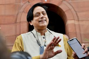 Facebook controversy: BJP MP writes to LS Speaker seeking removal of Shashi Tharoor as IT panel chief