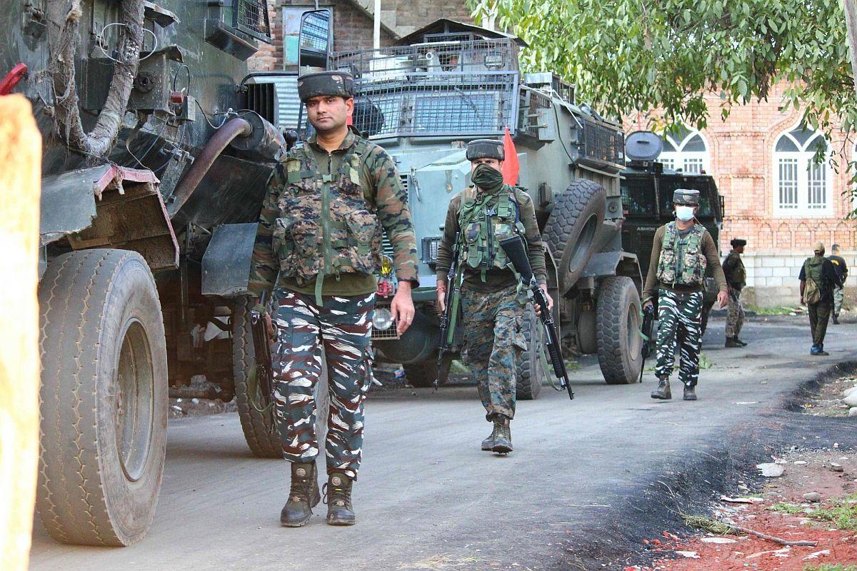 security forces, Jammu and Kashmir, terrorists,