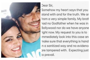 Sushant Singh Rajput's sister Shweta writes to PM Narendra Modi, fears of evidence being tampered