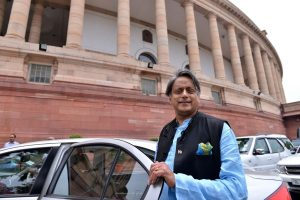 Facebook row: Shashi Tharoor gives breach of privilege notice against BJP's Nishikant Dubey for 'disparaging remarks'