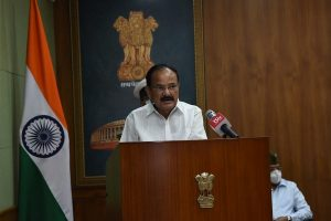 Vice President Venkaiah Naidu conveys greetings, wishes to nation on eve of 74th Independence Day