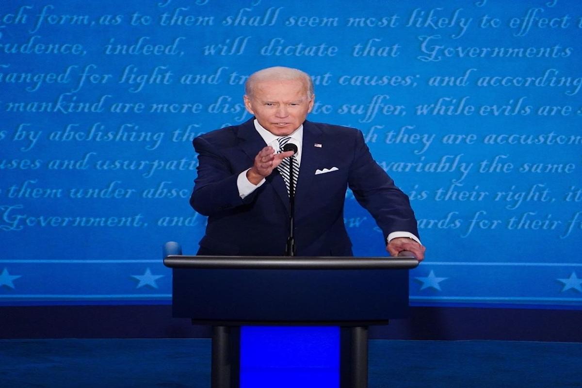 US presidential debate 2020, Democratic presidential nominee Joe Biden, Trump's coronavirus response, Donald Trump,