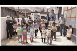 Story books open new windows for tribal Spiti kids during lockdown